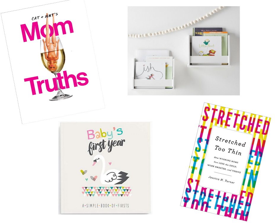 Books for new mothers and baby memory book