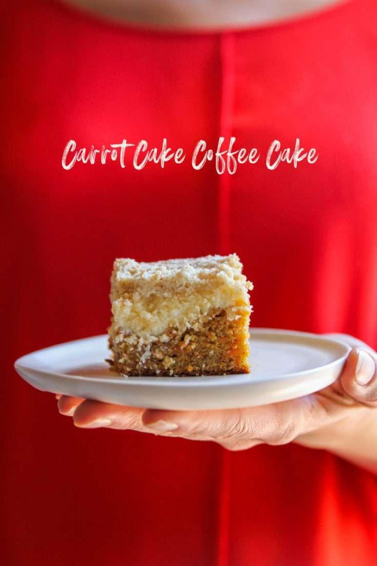 Carrot Cake Coffee Cake Recipe Sweetphi