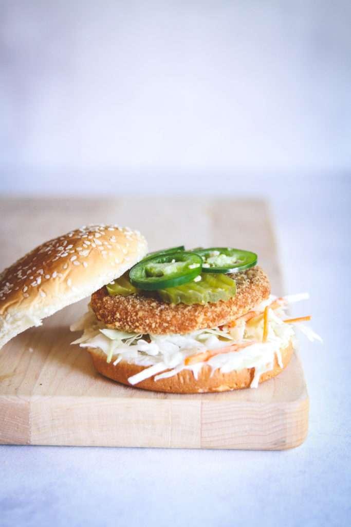The best ever vegetarian chicken sandwich