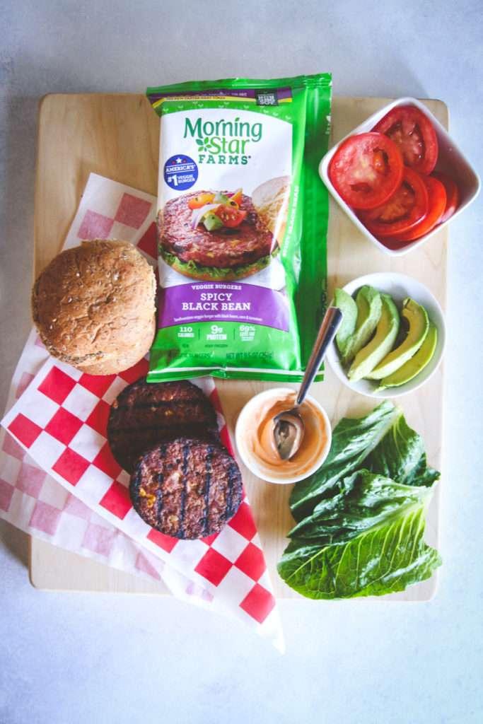 The best vegan black bean burger