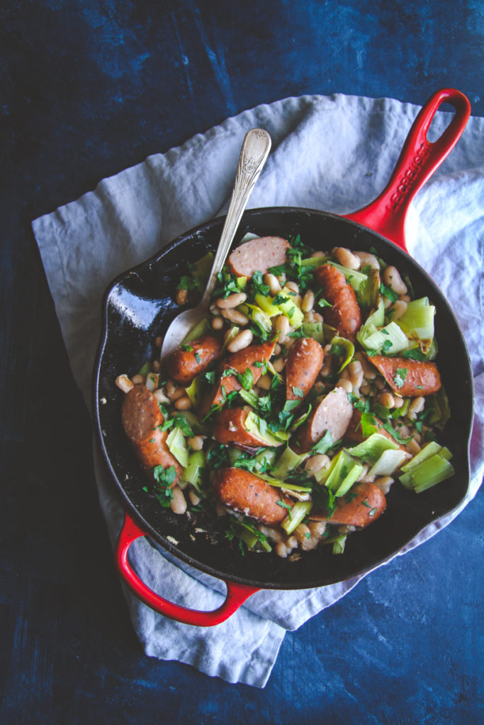 The best chicken and leek skillet for a budget friendly meal