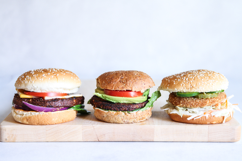 The best and delicious vegetarian burgers