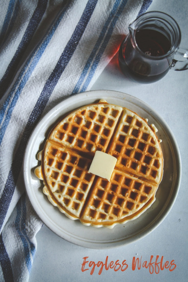The Best Eggless Waffles Recipe