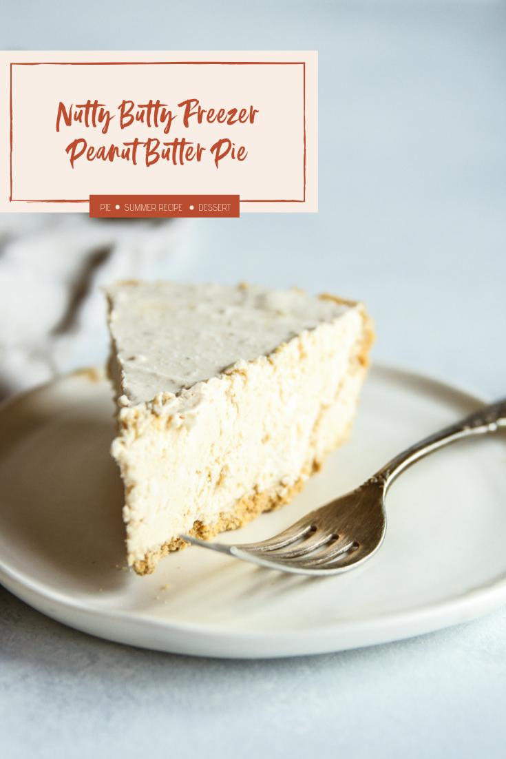 The best no bake nutty buddy freezer peanut butter pie