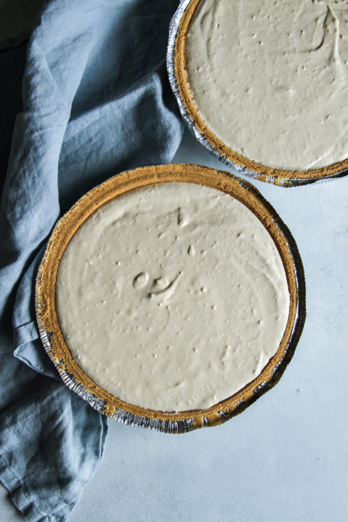 The most delicious peanut butter pie