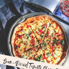 Sun-Dried Tomato Clam Pizza