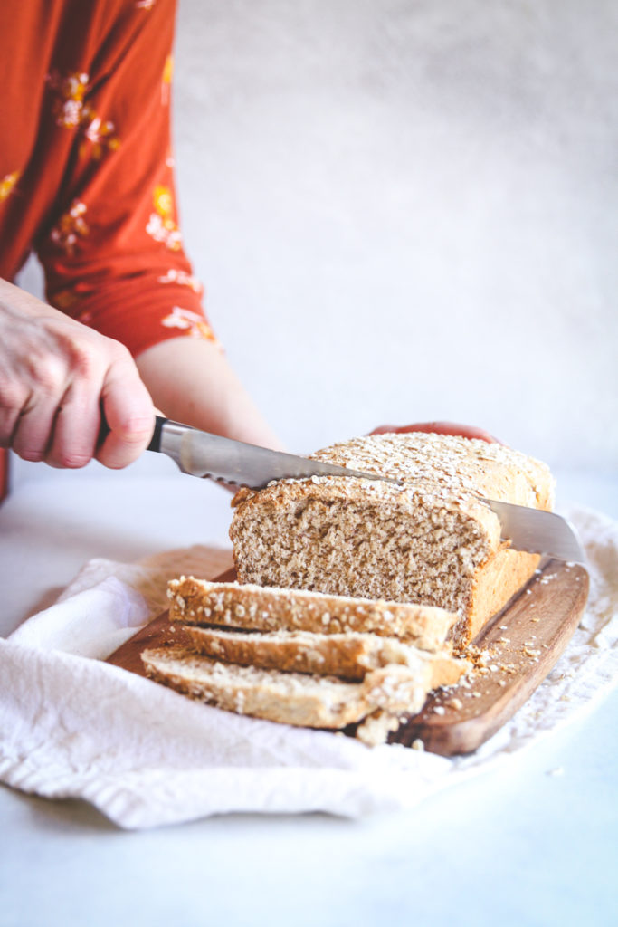 The best and healthy whole wheat honey oat flax bread