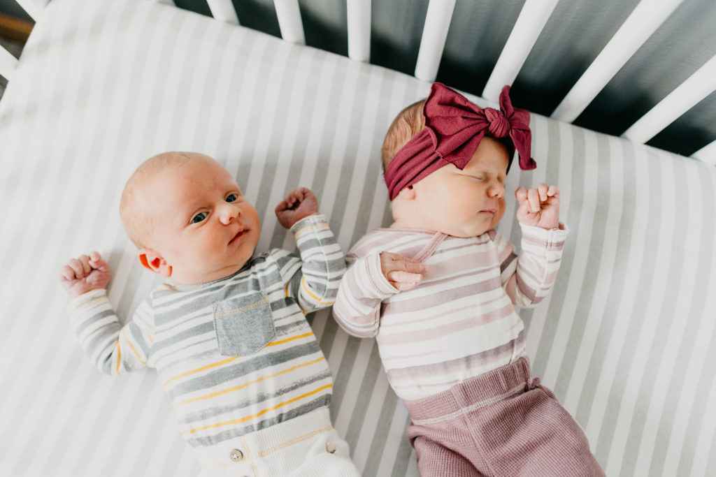 Boy Girl Twins Birth Story