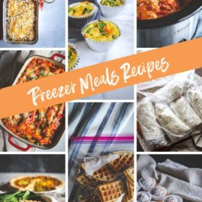 Freezer Meals Recipes