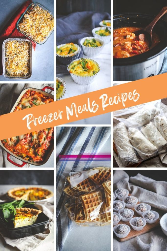 The best recipes that you can freeze