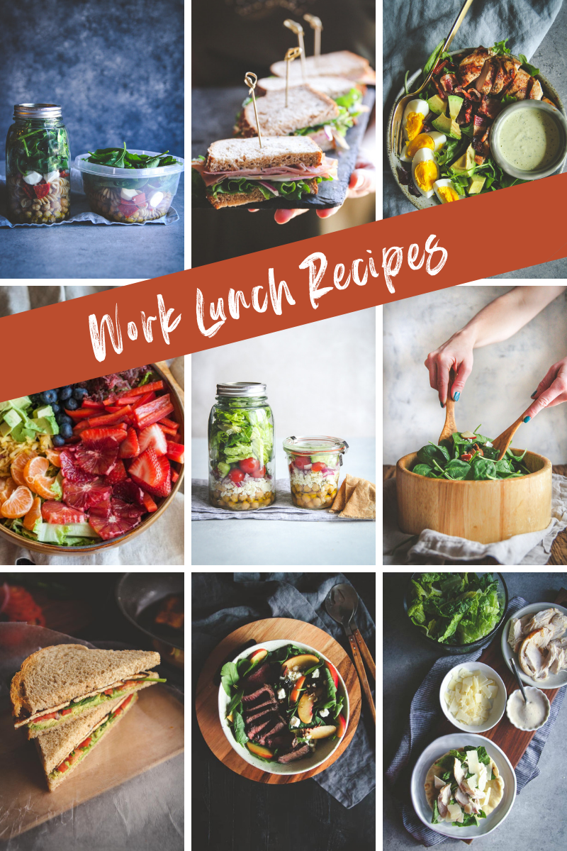 Work Lunch Recipe Roundup Sweetphi