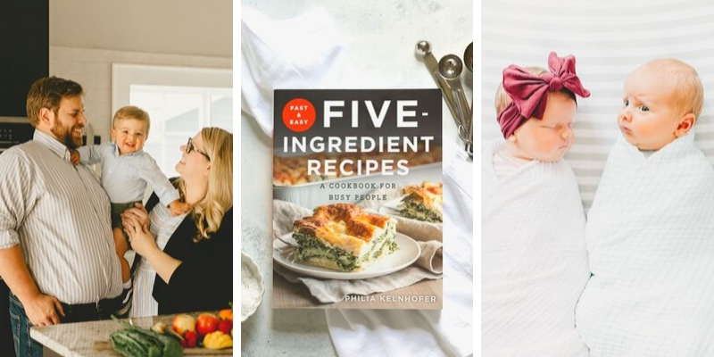 SweetPhi Philia Kelnhofer Cookbook and Family