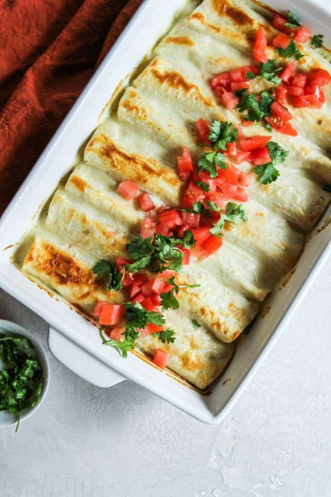 How to make delicious cheese enchiladas