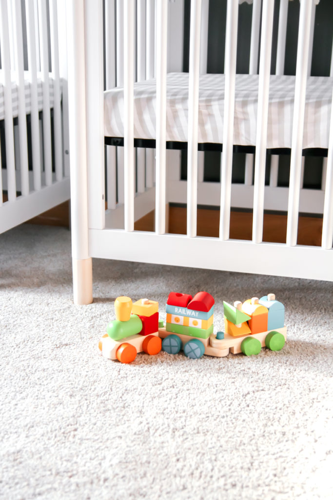 Decor for a toddler and twins sharing a room
