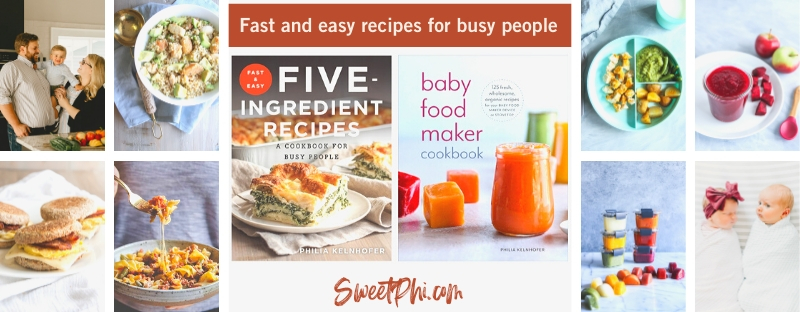 SweetPhi cookbooks