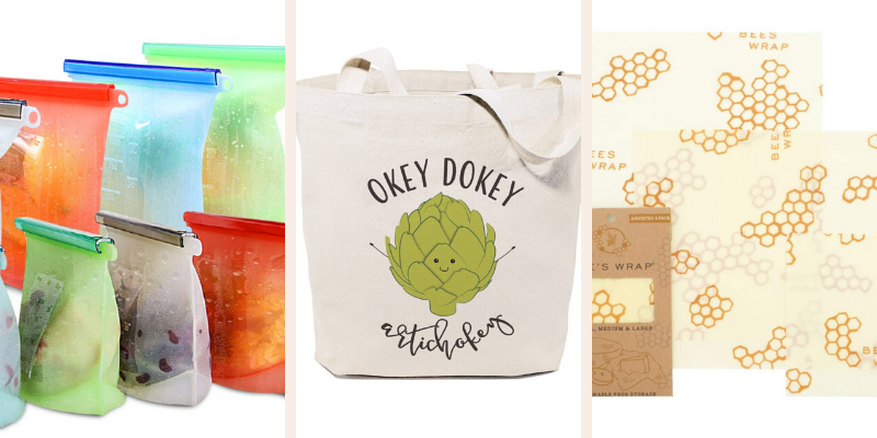 Eco-friendly items that are part of the SweetPhi ultimate awesome gift guide under $50