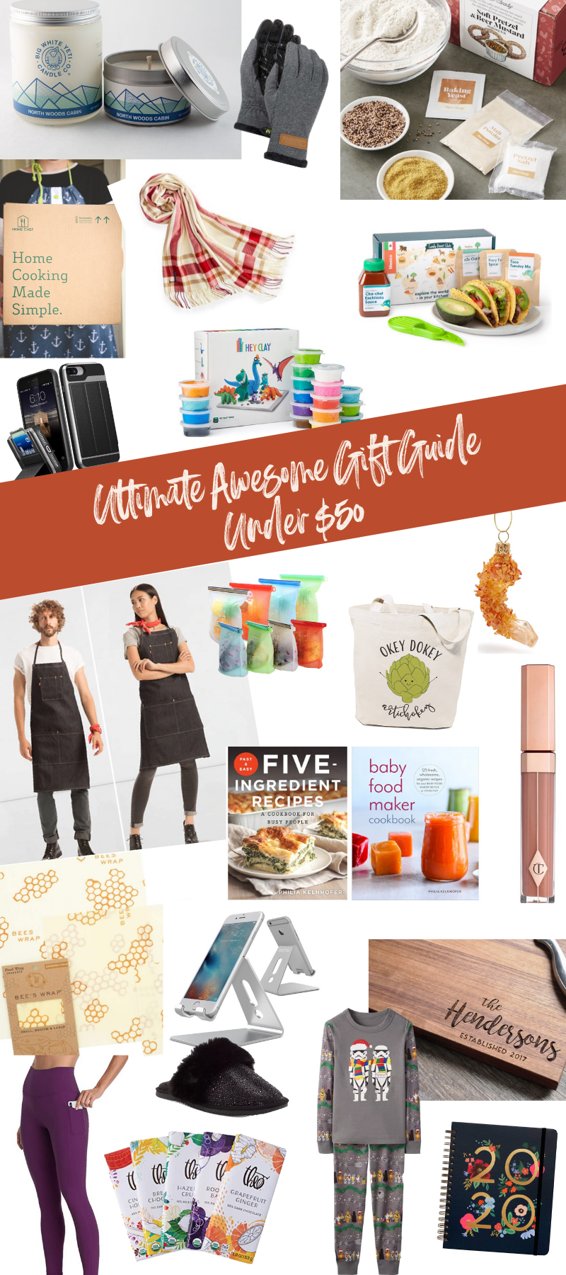 An awesome guide for gifts under $50