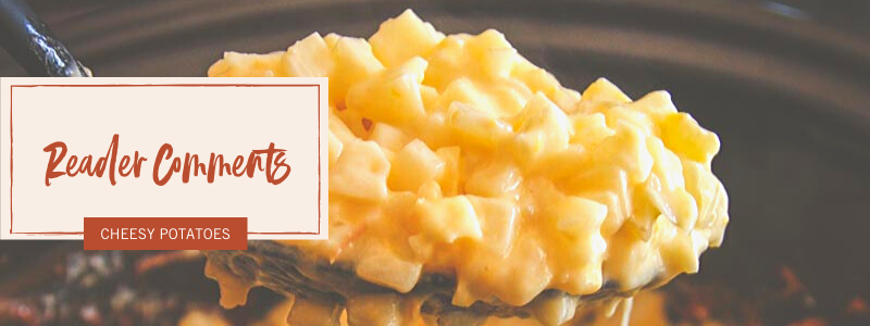 The best ever slow cooker cheesy potatoes