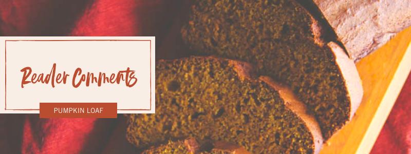 The best ever pumpkin loaf recipe