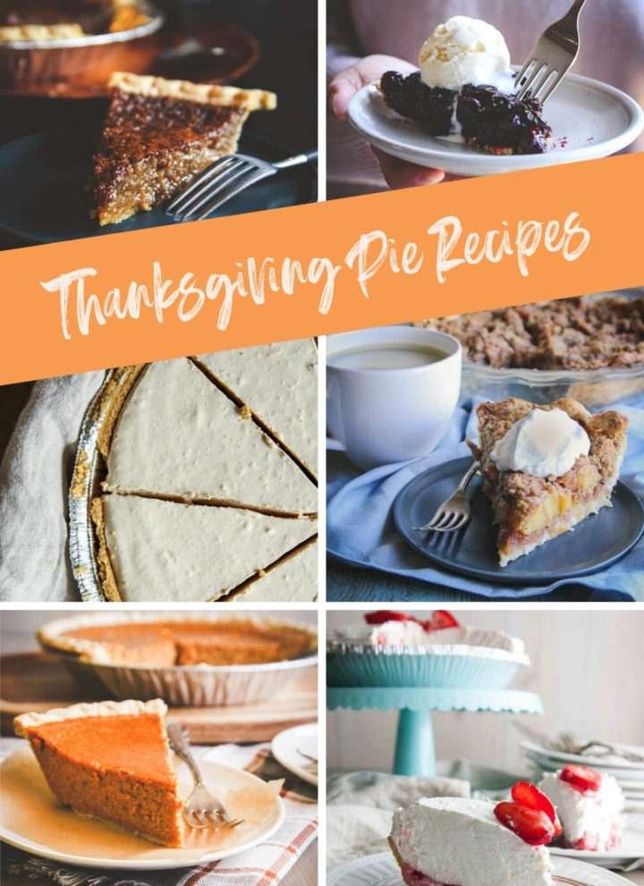 Thanksgiving pie recipes roundups, Thanksgiving pies