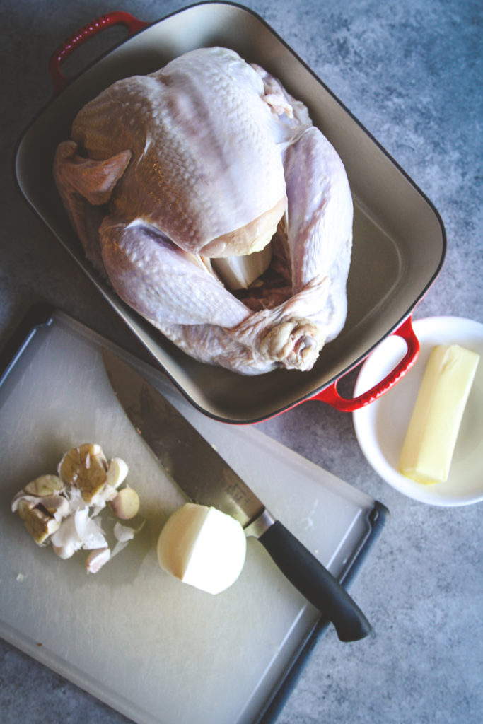 The most delicious Thanksgiving turkey with butter