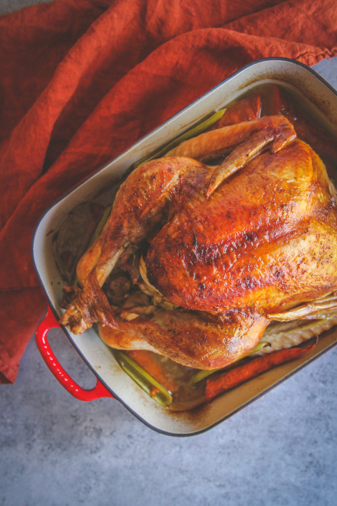 The best recipe for making a Thanksgiving turkey