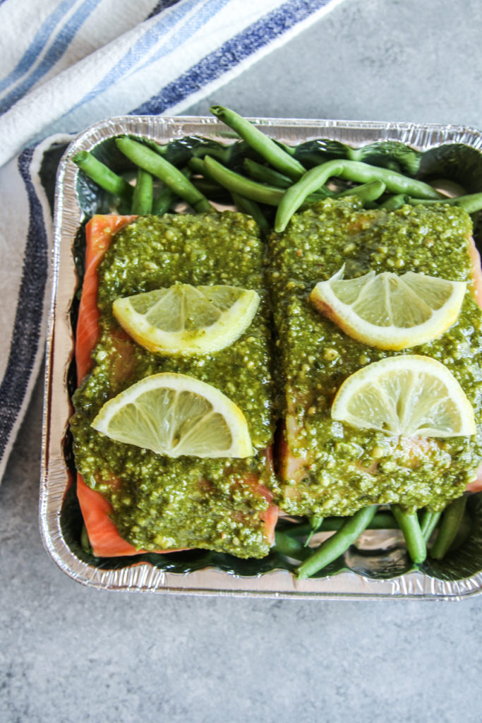 How to make the best pesto salmon