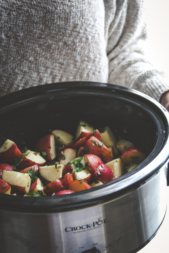 The best crock pot potatoes
