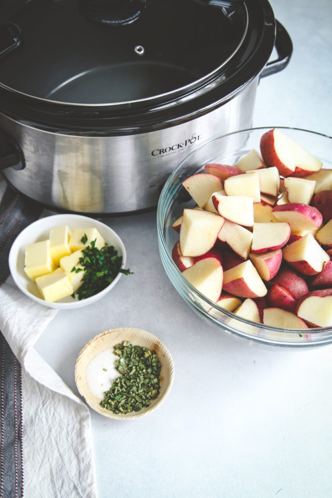 Easy recipe for slow cooker potatoes