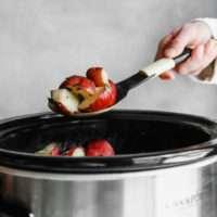 Crock pot potatoes recipe - slow cooker potatoes recipe