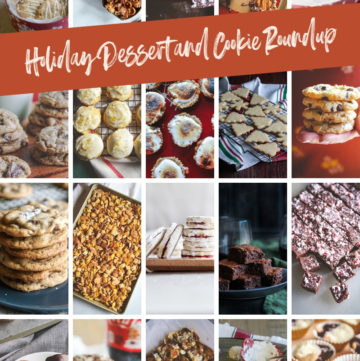 Holiday desserts and Christmas Cookies roundup