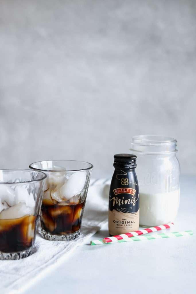 Baileys iced coffee latte brunch drink