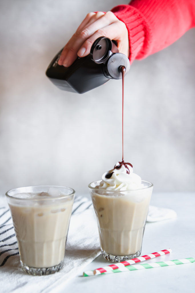 How to make an iced Baileys coffee latte