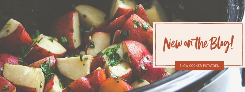 Slow cooker potatoes - new on the blog