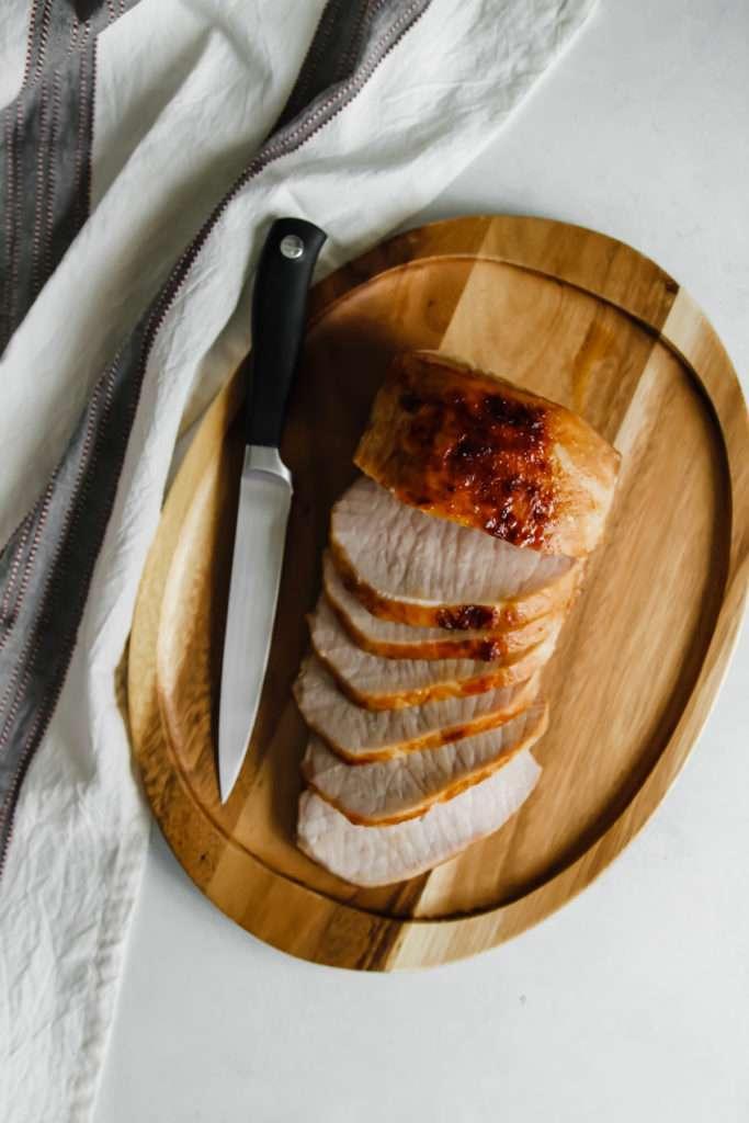 The best ever oven baked pork roast