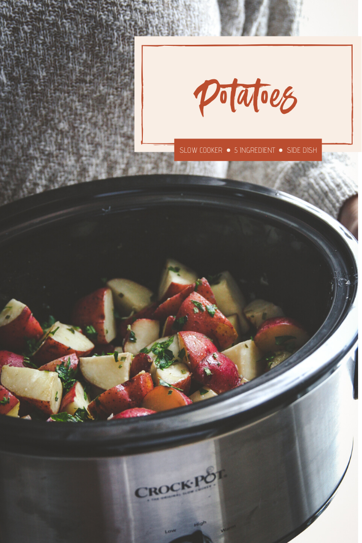 Crock pot potatoes recipe - slow cooker potatoes recipe