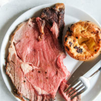 prime rib roast and yorkshire puddings recipe