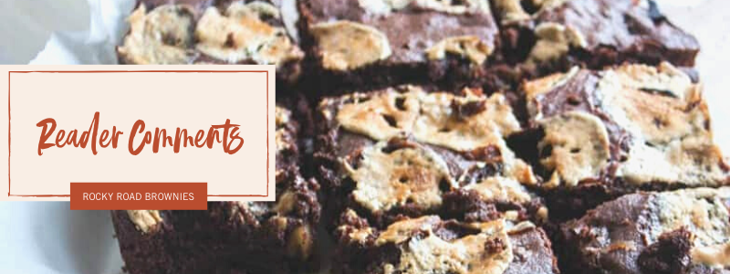 The most amazing rocky road brownies
