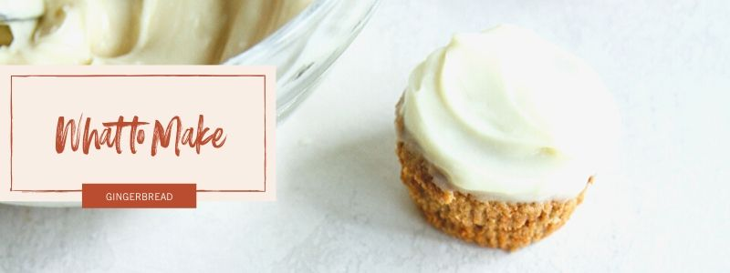 Gingerbread Muffins with Cream Cheese Frosting - What to Make