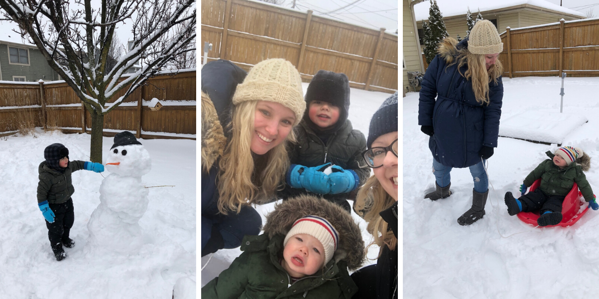 Snow Day Fun in Wisconsin