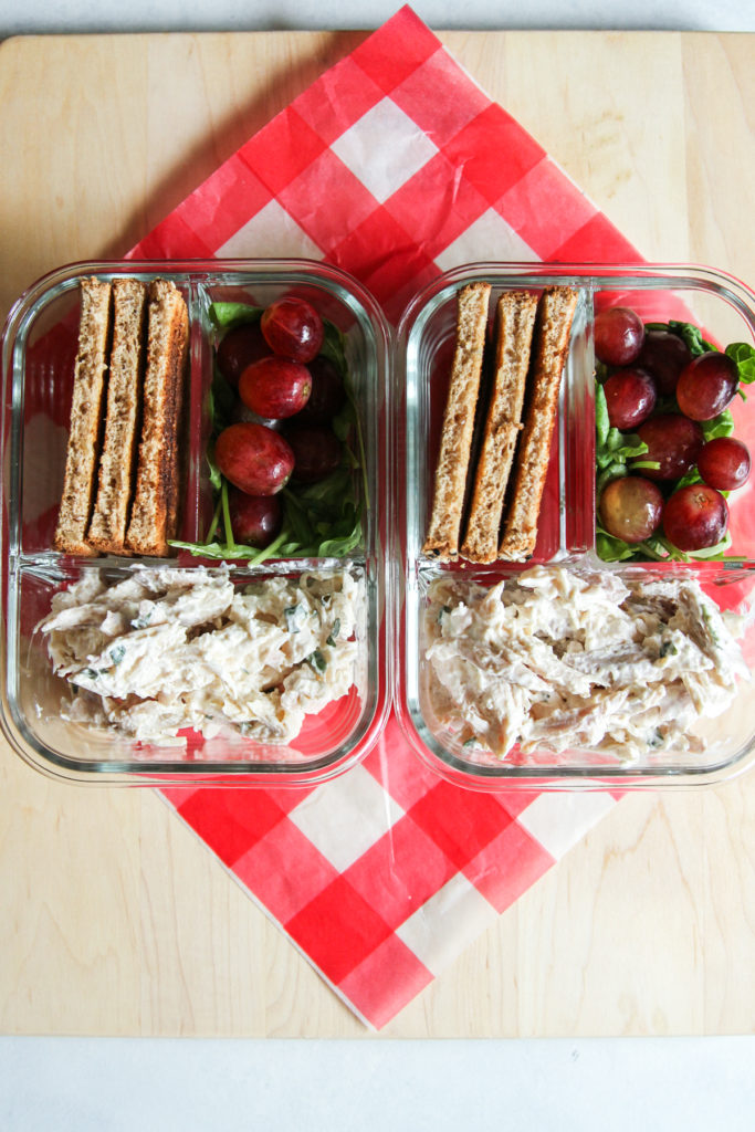 The best meal prep 5 ingredient chicken salad recipe