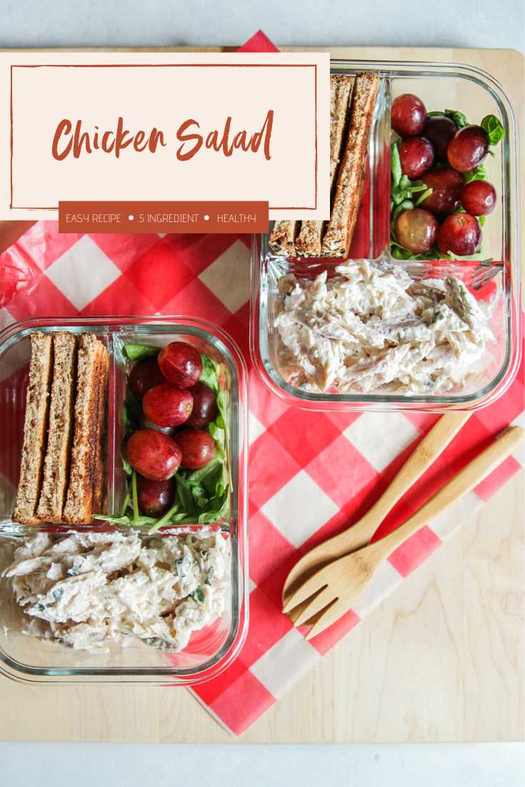 The most delicious 5 Ingredient Chicken Salad
