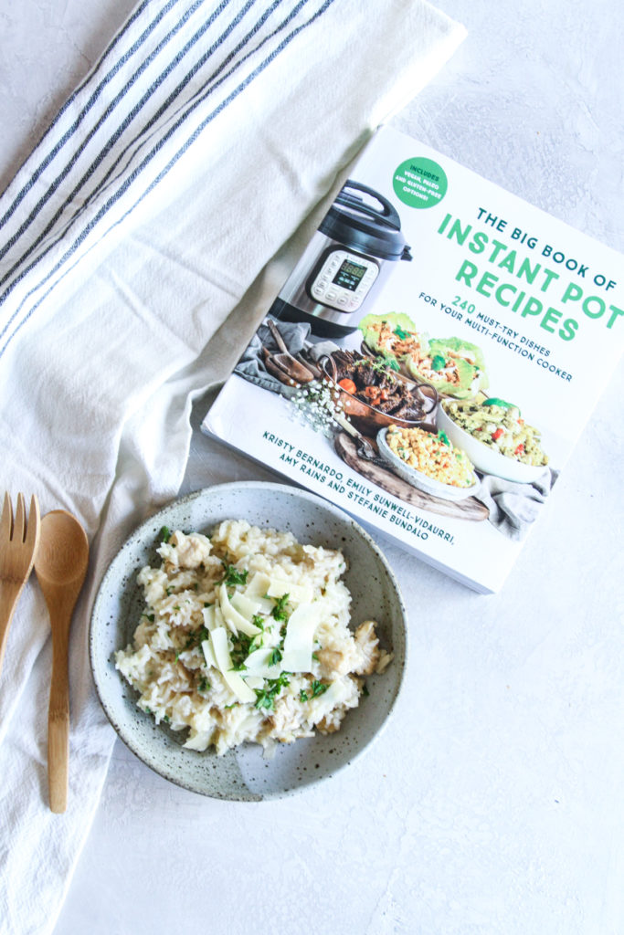 No stir Instant pot lemon chicken risotto