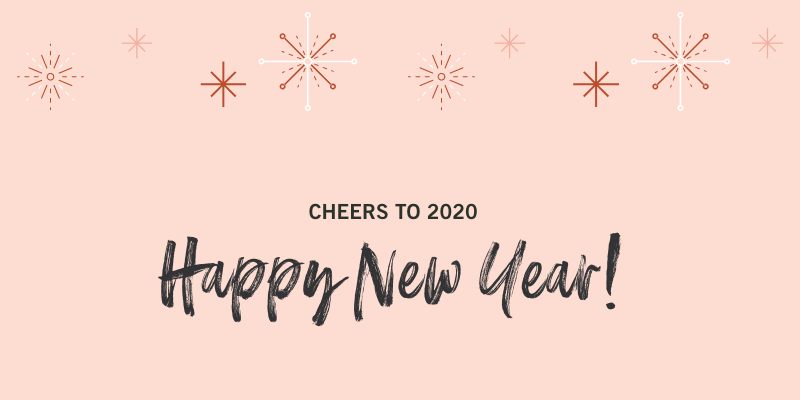 Happy New Year from SweetPhi, 2020