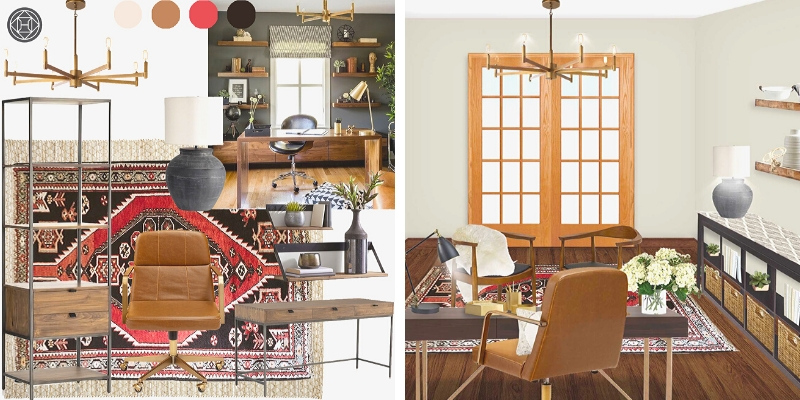 The best home office mood board