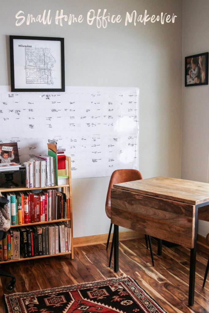 The most amazing small home office reveal!