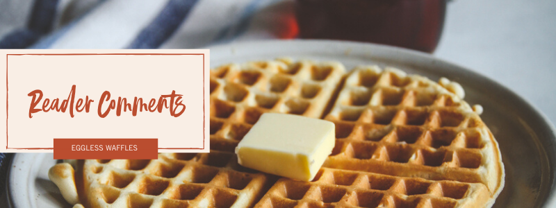 The best eggless waffles