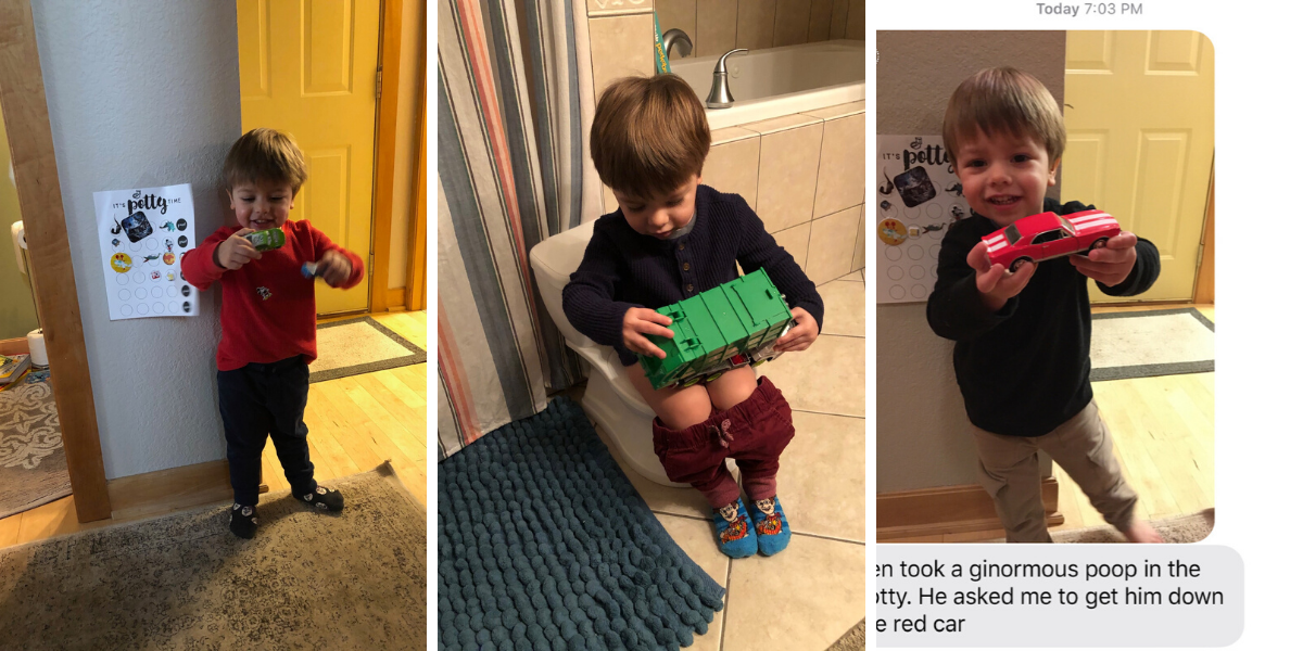 Ben's potty training update