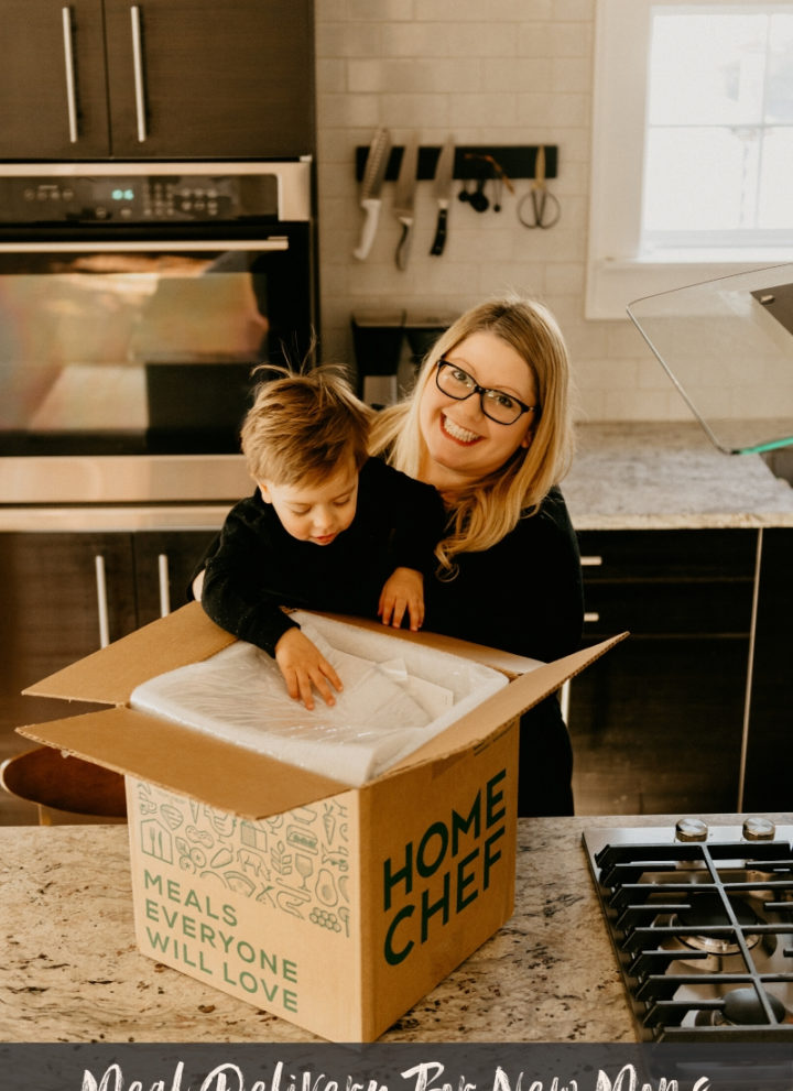 meal delivery service for new moms