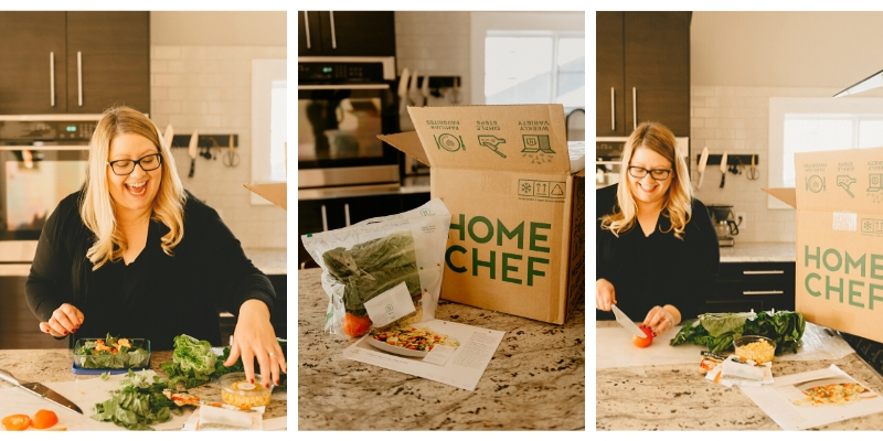 Meal delivery kits as gifts for new moms